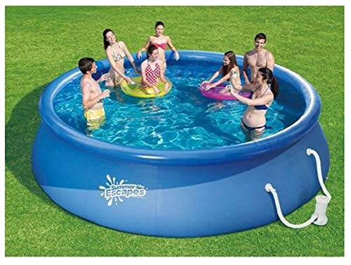 Intex Pool Online Shopping Summer Escapes Round 15 39 X 3 39 Inflatable Quick Set Swimming Pool