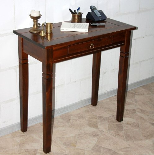 CASA Massivholz Konsolentisch Wandtisch Beistelltisch Holz massiv kolonial