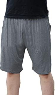 Mens Lounge Shorts Sleepwear Lounge Wear Pyjama Shorts Bottoms Loose Fit Pants