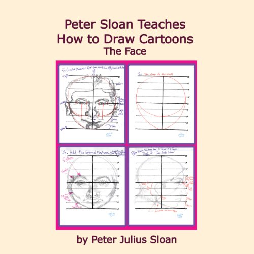 Peter Sloan Teaches How to Draw Cartoons audiobook cover art