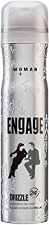 Engage New Metal Range Drizzle Deodorant Spray For Women, 150ml /100 g