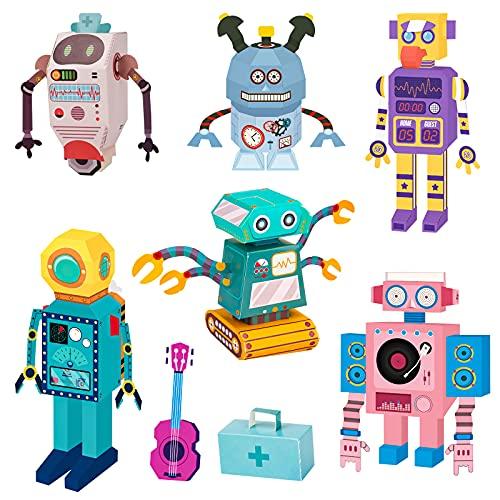 Regalos para 4-9 años de Niños,Juguetes para niños, niñas, de 3-12 años, Juguetes para niños, niñas, de 8 a 12 años juegos de manualidades y artes de papel de origami 3D para niños de 7-13 años