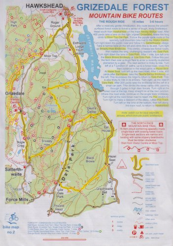 Grizedale Forest (Mountain Bike Map)