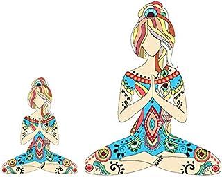 ملصق Yoga Girl مقاوم للماء 5 بوصات (بوصة) للسيارة أو الكمبيوتر المحمول. قم بتمكين الإلهة داخل نفسك مع هذا الملصق الجميل ال...