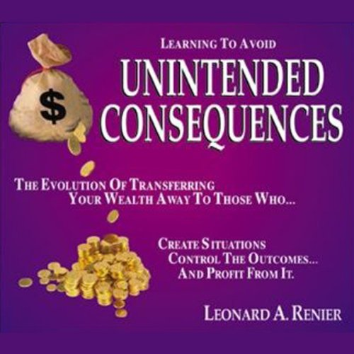 Learning to Avoid Unintended Consequences  audiobook cover art