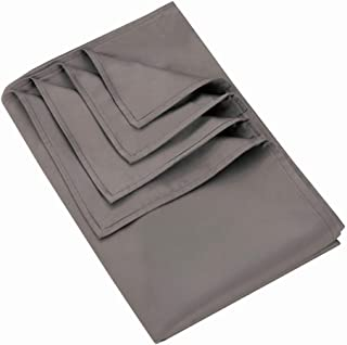 MANLINAR 60x80 Weighted Blanket Cover, Weighted Blanket Duvet Cover with 8Ties, Luxury Silk Cotton, Grey.