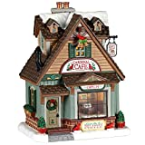 Lemax 05628 Cardinal Cafe Village Building, Multicolored