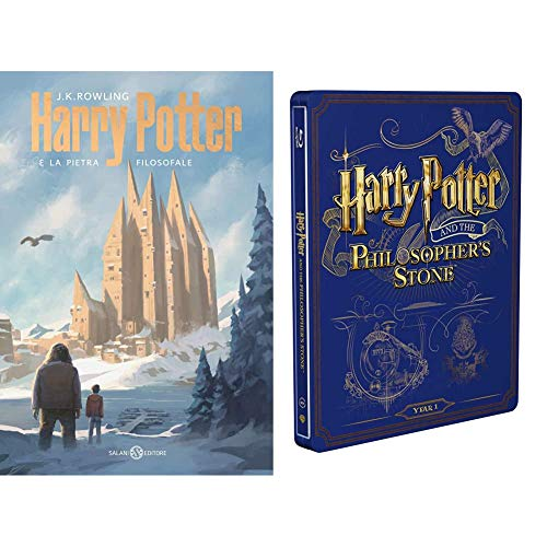 Harry Potter E La Pietra Filosofale (Steelbook + Libro)