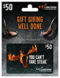 LongHorn Steakhouse $50 Gift Card