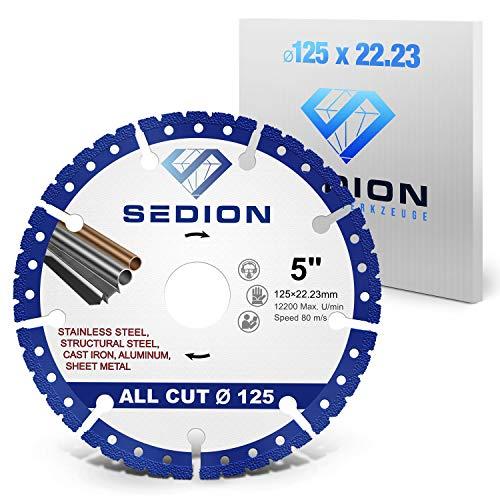 SEDION ® Diamanttrennscheibe 125 mm -...