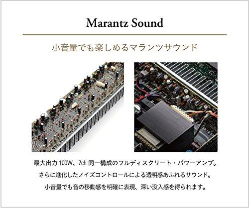 MarantzAVレシーバースリムデザインブラックNR-1607/FB