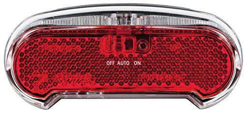 AXA Achterlicht Riff Batlow LED batterij aan/auto/uit 80mm zwart