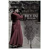 SIDO Poster - Hey Du Tour 2009 - Konzert Plakat