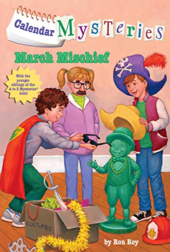 March Mischief audiobook cover art