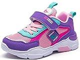 Zapatillas de Correr Niñas 33 Zapatillas de Niños Deportivas Zapatos de Running Niño Ligeras Zapatos de Walking Niña Transpirable Sneakers Baloncesto Zapatillas y Calzado Deportivo 6586-Rosa