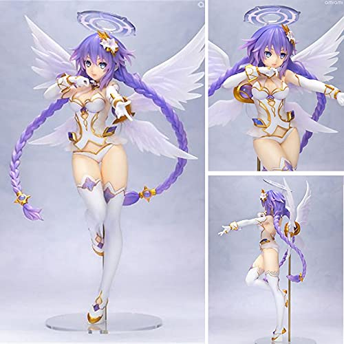 Jin Chuang 25cm Anime Hyperdimension Neptunia Purple Heart Neptune PVC Action Figures collectibl Model Toys for Children Gift