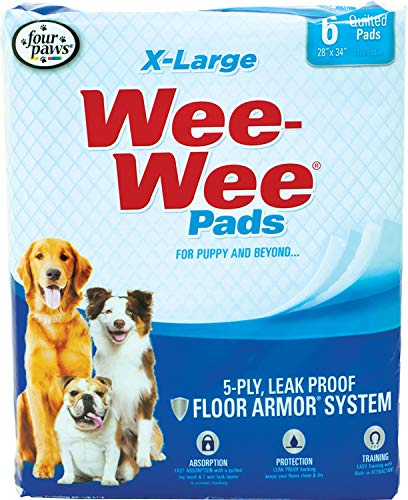 Four Paws Wee Wee Pads Pet Training Size: Extra Large / 14 Pack