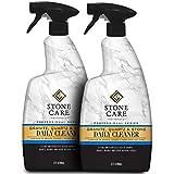 Stone Care International Granite Cleaner - 32 Fluid Ounces (2 Pack) Granite Marble Quartz Tile Travertine Limestone Slate Clean