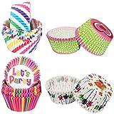 LLMZ Taza para Hornear 400 Piezas Papel para Cupcakes Moldes para Magdalenas para Boda,Fiesta,Cumpleaños