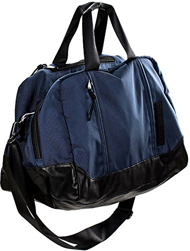 Bikkembergs Borsa Borsone Palestra Viaggio Uomo Donna Bag Men Women DB-Tape Duffle Midnight Blu