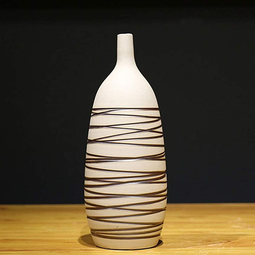 パラシュート動的バックどのように-造花 人工花 0 ブランチ クラシック 近代の 花瓶 テーブルトップフラワー,ベージュ