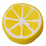 LALANG Cartoon Lemon Slow Rising Anxiety Stress Relief Charms for Key ring Findings