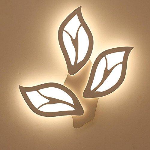 OOFAY LIGHT Lampada da Parete a Forma di Foglia di Lampada da Parete a LED a Forma di Foglia