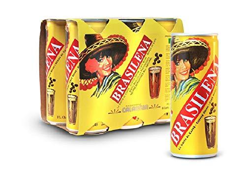 Brasilena Gassosa al caffè Calabrese 24 Lattine da 25 cl FORMATO RISPARMIO Prodotti Tipici Calabresi
