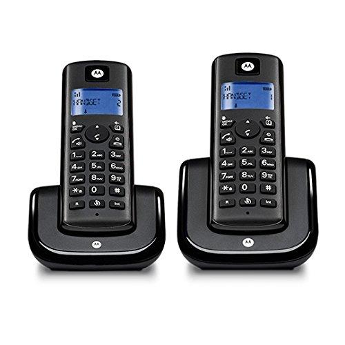 Motorola T202B Schnurlostelefon schwarz