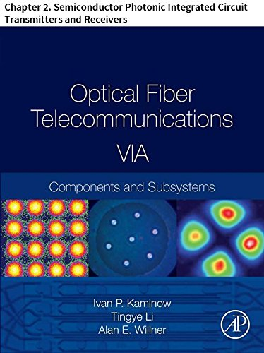 Optical Fiber Telecommunications VIA: Chapter 2. Semiconductor Photonic Integrated Circuit Transmitters and Receivers (Optics and Photonics) (English Edition)