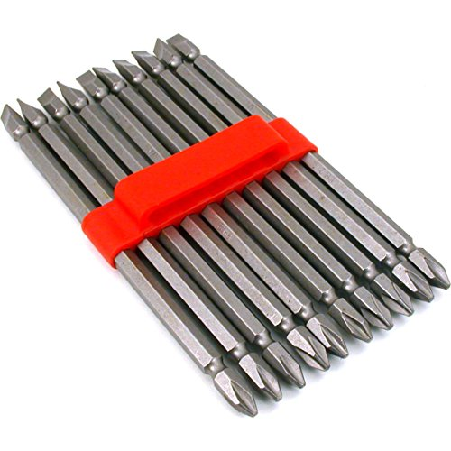 10 Double End Slotted Phillips Screwdriver Bits Tool 6