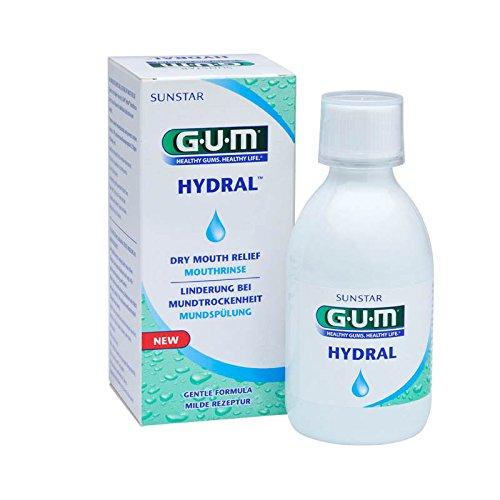GUM HYDRAL Mundspülung 300 ml, DOPPELPACK (2x 300ml)