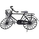 Liukouu 1:12 Miniatur Metall Fahrrad Puppenhaus Puppenhaus Dekoration Zubehör
