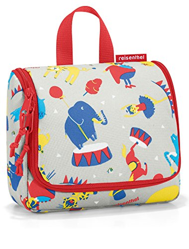 reisenthel toiletbag S kids circus red Maße: 18,5 x 16 x 7 cm / Volumen: 1,5 l