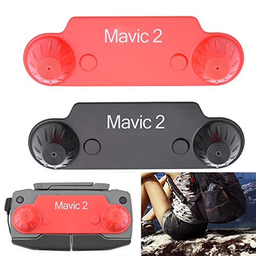 L9WEI Mando a distancia para DJI Mavic 2 Pro/Zoom, mando a distancia basculante, funda protectora para dron (negro, 1 unidad)