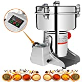 Marada 750g Electric Grain Grinder Mill LED Display Stainless Steel 25000 r/min Pulverizer