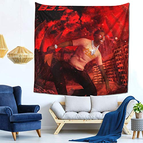 HOJJP Comethazine Tapestry Tapestries Living Room Bedroom Wall Cloth Photograph Background Wall Bedside Art 59 X 59inch