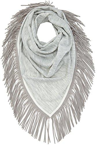 OPUS Damen Apuni scarf Schal, Grau (sensible grey 8038), One size (Herstellergröße: 0)