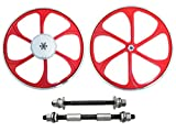 BBR Tuning 26 Inch Heavy Duty Front Mag Wheel for Mountain Bikes, Beach Cruisers, Hybrid Bikes and...