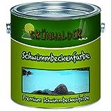 Grünwalder - Pintura para piscinas (1 L, azul)