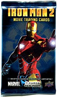 Upper Deck Iron Man 2 Movie Trading Cards Pack