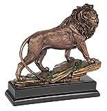 Universal Lighting and Decor Regal Lion 11' High Sculpture in a Bronze Finish - Kensington Hill