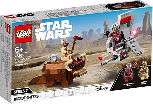 wow Lego® Star Wars 75265 T-16 Skyhopper vs Bantha Microfighters