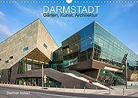 Darmstadt - Gaerten, Kunst, Architektur (Wandkalender 2022 DIN A3 quer): Kunstvolle Fotografien einer kunstvollen Stadt (Monatskalender, 14 Seiten )