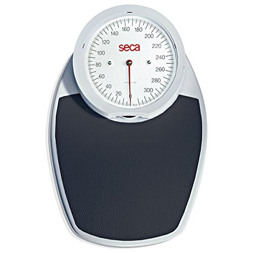 seca 750 Mechanical Home Personal Scale with Dial Face - Measures LBS/KG (Black Tread)