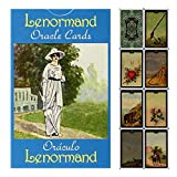 FEZD Lenormand Oracle Cards, Tarot Card Game da Tavolo da 78 PCS per PC, Party And Festival Board Game Cartoline (Pacchetto, Tovaglia)
