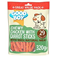 *NEW* 320G VALUE PACK MADE WITH 100% NATURAL CHICKEN BREAST MEAT RAWHIDE FREE IDEAL FOR DOGS & PUPPIES OVER 4 MONTHS