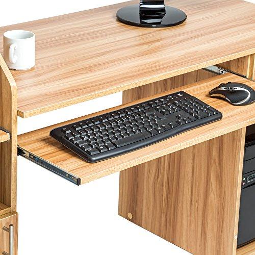 TecTake 800731 Mesa para Ordenador PC, Escritorio con Cajón ...