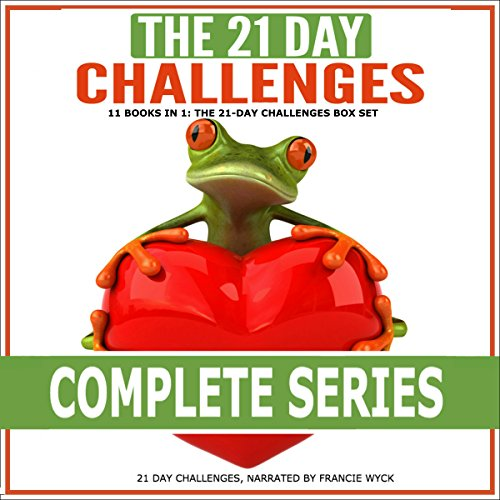 The 21-Day Challenges Box Set audiobook cover art