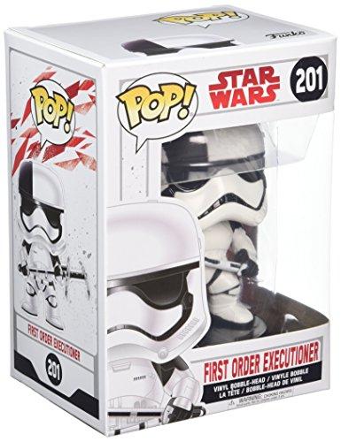Star Wars - Figuara de Vinilo: Pop! Bobble E8 TLJ: Soldado de Asalto de la Primera Orden